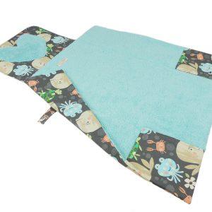tapis à langer nomade déplié