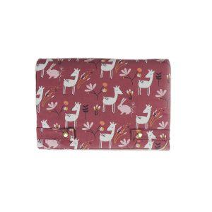 tapis bébé nomade biche rose replié